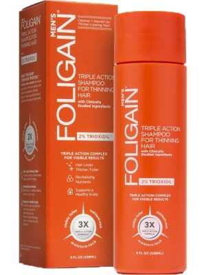 Foligain shampoo for men -