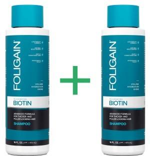 Foligain Biotin Shampoo + Conditioner Kombi-Packung -