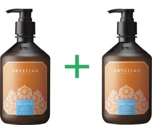 Abyssian shampoo + conditioner combination package (500ml) -