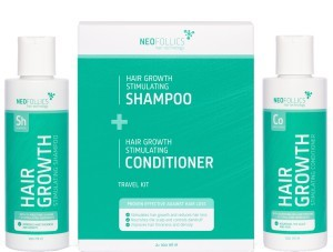 Neofollics shampoo + conditioner travel kit -