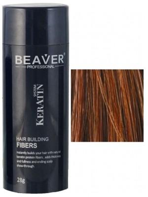 Beaver keratine haarvezels - Kastanjebruin (28 gr) - haarfibers million haarfiber  welke vitamines mineralen distributeur vitaminen