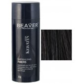 beaver keratin hair building fibers black 28 gr fiber fibres review
