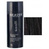 beaver keratine haarvezels zwart 28 gr bestellen poeder haarvezel spray ervaring