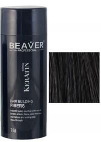beaver keratin hair building fibers black 28 gr fibres fiber review