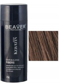 keratine haarvezels 28 gram medium bruin toppik beaver voor haar poeder donker nanogen ervaringen