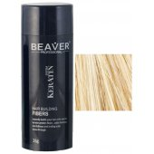 keratin hair building fibers 28 grams blonde fiber fibre beaver review qual e a cor gram bronde