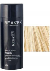 beaver keratin hair building fibers blonde 28 gr fiber fibre review qual e a cor gram bronde