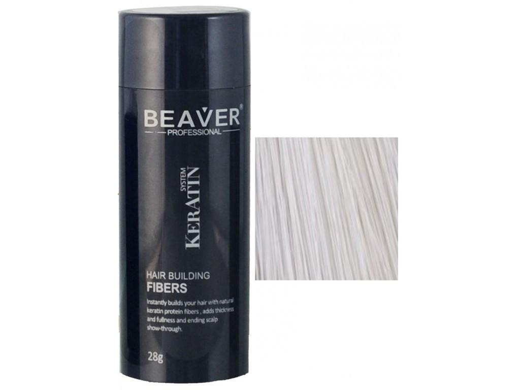 keratin hair building fibers 28 grams white