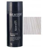 beaver keratine haarvezels wit 28 gr poeder om kaalheid te verbergen toppik kopen rotterdam hair fibers