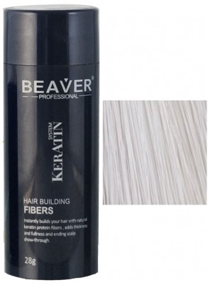 Beaver keratin hair building fibers - White (28 gr) - saudi arabia arabiA germany whick oil deutschland