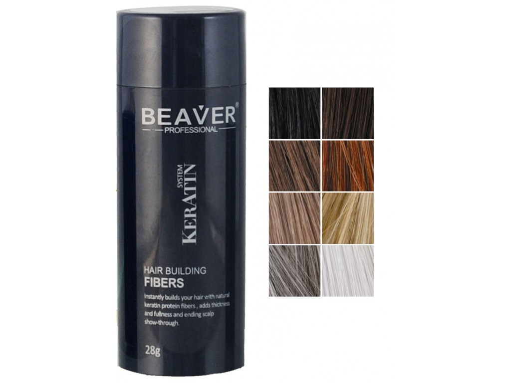 Beaver keratin hair building fibers ...