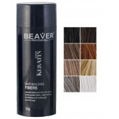 beaver keratin haarfasern schwarz 28 gr toppik cabokicom nanogen hair illusion