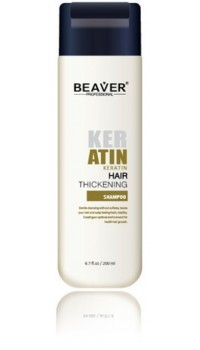 beaver keratine shampoo met keratin kopen thickening