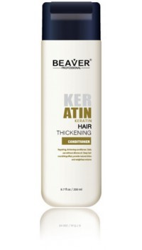 beaver keratin conditioner thickening and collagen shampoo review hair for black women