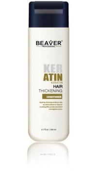 beaver keratine conditioner met livin conditioning cremespoeling haar dun