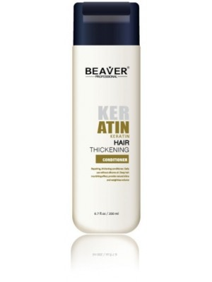 Beaver keratine conditioner - cremespoeling livin conditioning karetine thicker