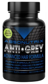 absonutrix anti gray caplets hair cure grey catalase review