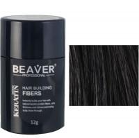 beaver keratin hair building fibers black 12 gr professional cut men natural design hairs keratinehair volume in a