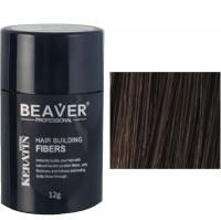 keratine haarvezels 12 gram donkerbruin haarpoeder voor kale plekken poeder haar kaal man kruidvat