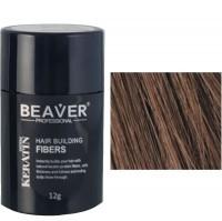 beaver keratine haarvezels medium bruin 12 gr kruidvat toppik hair fibers