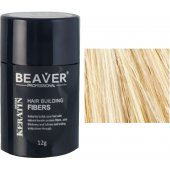 beaver keratin hair building fibers blonde 12 gr