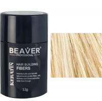 beaver keratin hair building fibers blonde 12 gr