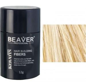 Beaver keratine haarvezels - Blond (12 gr) - hydratant blonde