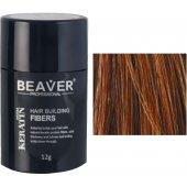 beaver keratin haarfasern kastanienbraun 12 gr