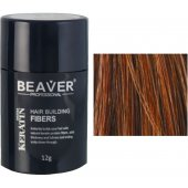 beaver keratine haarvezels kastanjebruin 12 gr kopen hair powder men