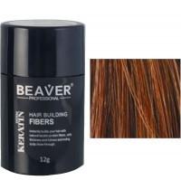 beaver keratin haarfasern kastanienbraun 12 gr aus der dose