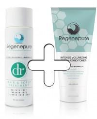 combinatiepakket regenepure dr biotine conditioner biotin hair growth