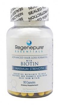 regenepure essentials biotine supplement brandnetelwortel haaruitval biotin b12 hair growth saw palmetto aminozuren