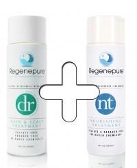 combinatiepakket regenepure dr nt verschil en super haargroei formule ervaringen shampoo waar emoe olie caffeine