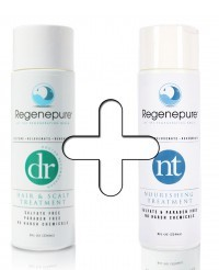 regenepure dr nt combinatiepakket verschil en super haargroei formule ervaringen shampoo waar emoe olie caffeine
