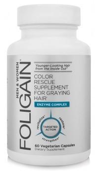 foligain tegen grijs haar middel pil grijze haren shampoo