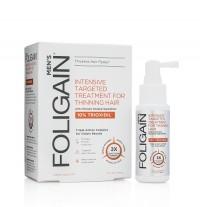foligain lotion voor mannen haargroei materiaal shampoo intensive 10 trioxidil