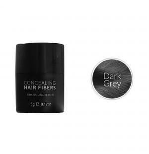 Kmax keratin hair fibers - Dark gray (5 gr) -
