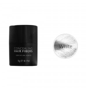Kmax keratin hair fibers - White (5 gr) -