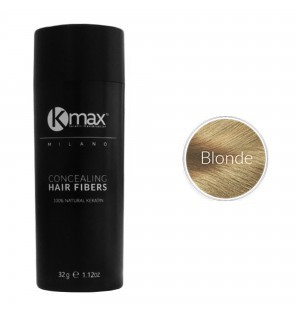 Kmax keratin hair fibers - Blonde (32 gr) -