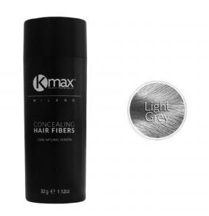 Kmax keratin hair fibers - Light grey (32 gr) -