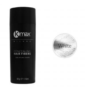 Kmax keratine haarvezels - Wit (32 gr) -