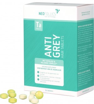Neofollics anti-grey hair tablets -