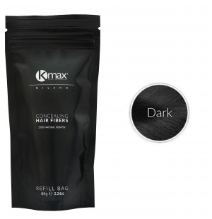 Kmax keratin hair fibers - Black (64 gr) -