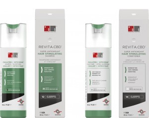 Revita.CBD shampoo + conditioner combination package -