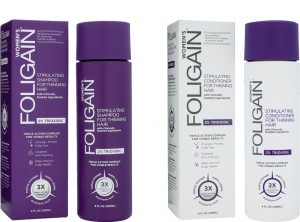 Foligain shampoo + conditioner for women combination package -
