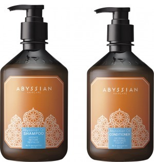 Abyssian Shampoo + Conditioner Kombi-Packung (500ml) -