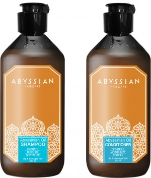 Abyssian shampoo + conditioner combinatiepakket (250ml) -