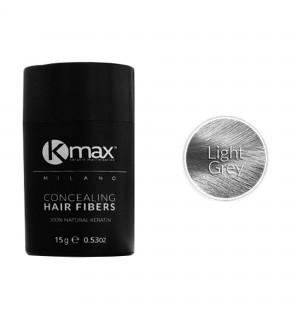 Kmax keratin hair fibers - Light grey (15 gr) -