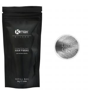 Kmax keratin hair fibers - Light grey (64 gr) -