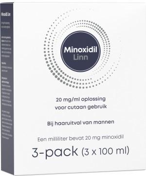 Linn Minoxidil 2% 3-pack (3x100ml) -